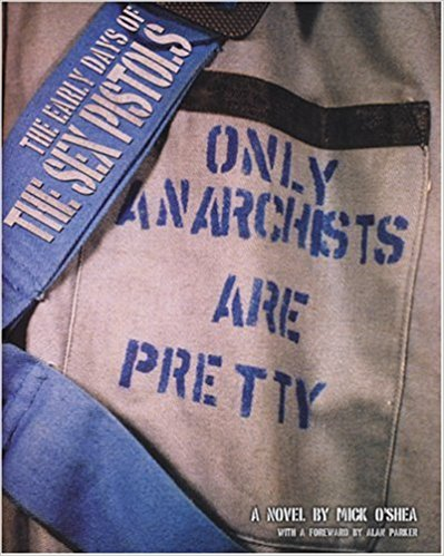 Book cover, photo of pocket and bag strap with text